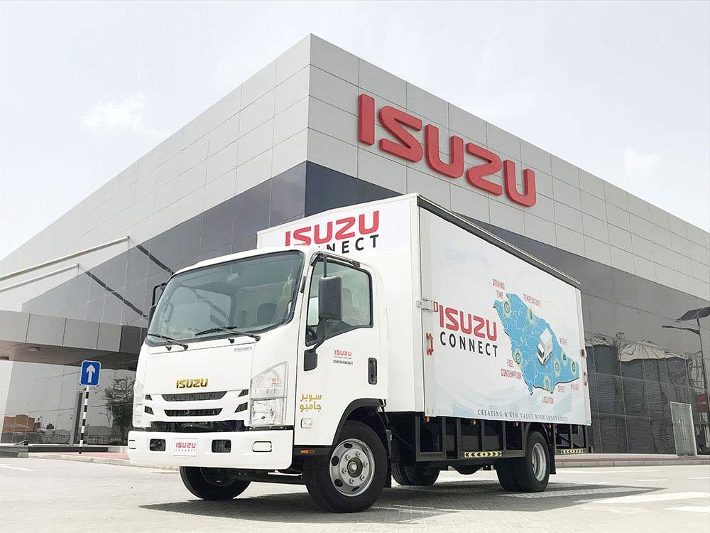 Isuzu Connect Super Jumbo Gold Edition Truck