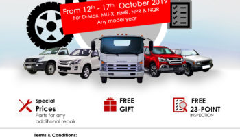 ISUZU and Jaidah Motors Successfully conducted the Service Clinic in Doha Qatar
