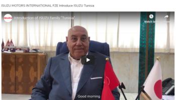 "Introduction of ISUZU Family ""Tunisia"""