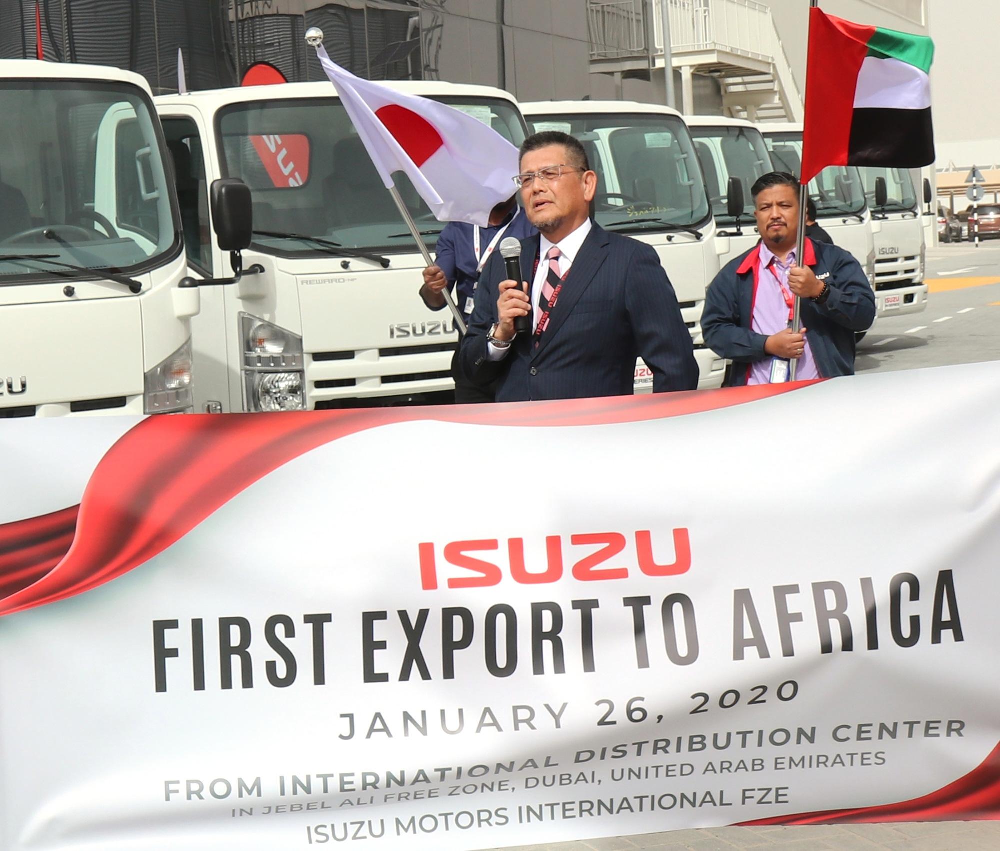 Isuzu First Export to Africa - Opening Ceremony Speech 2