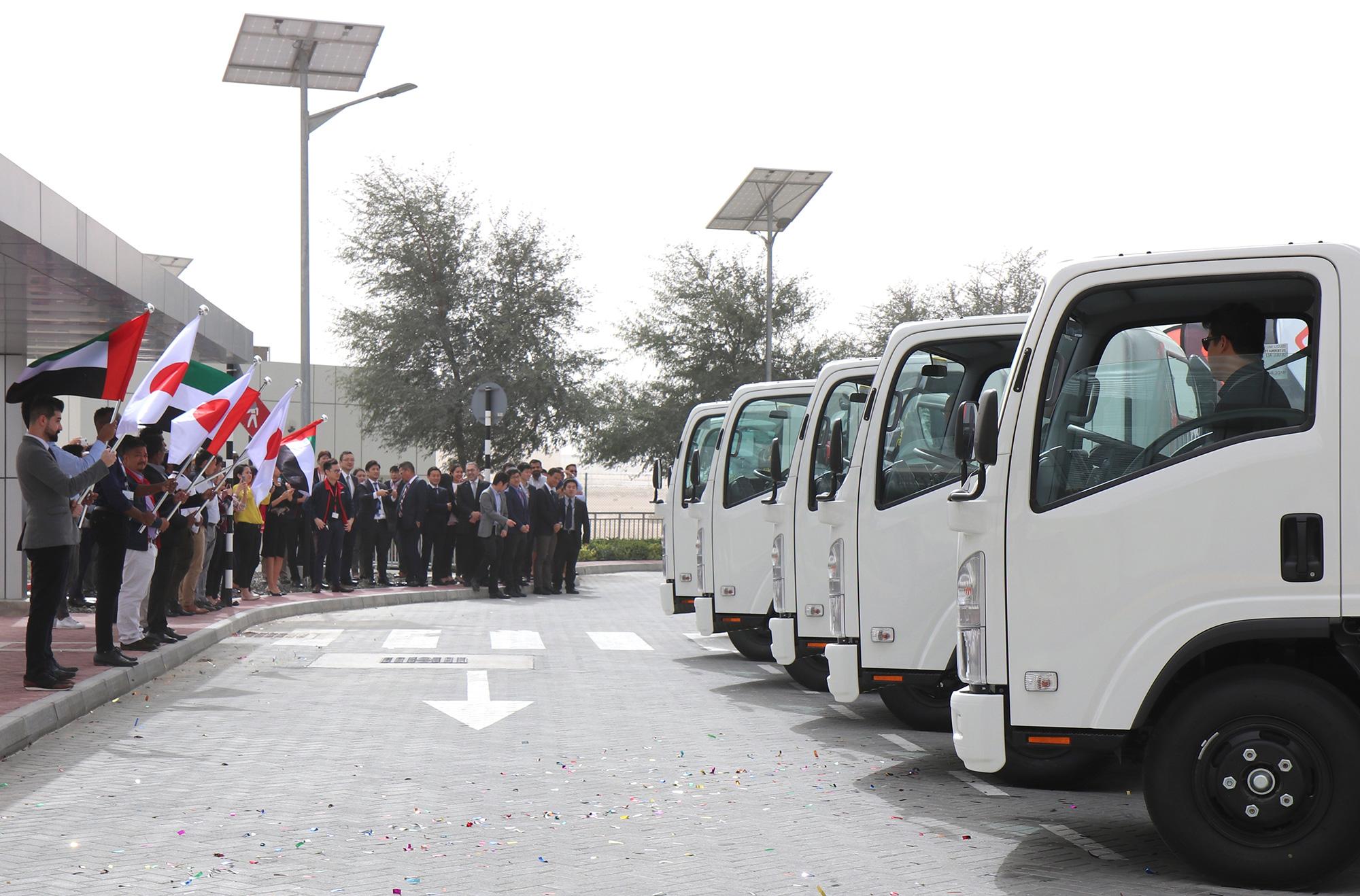 Isuzu Established IDC in Dubai to reach immediate Truck Delivery