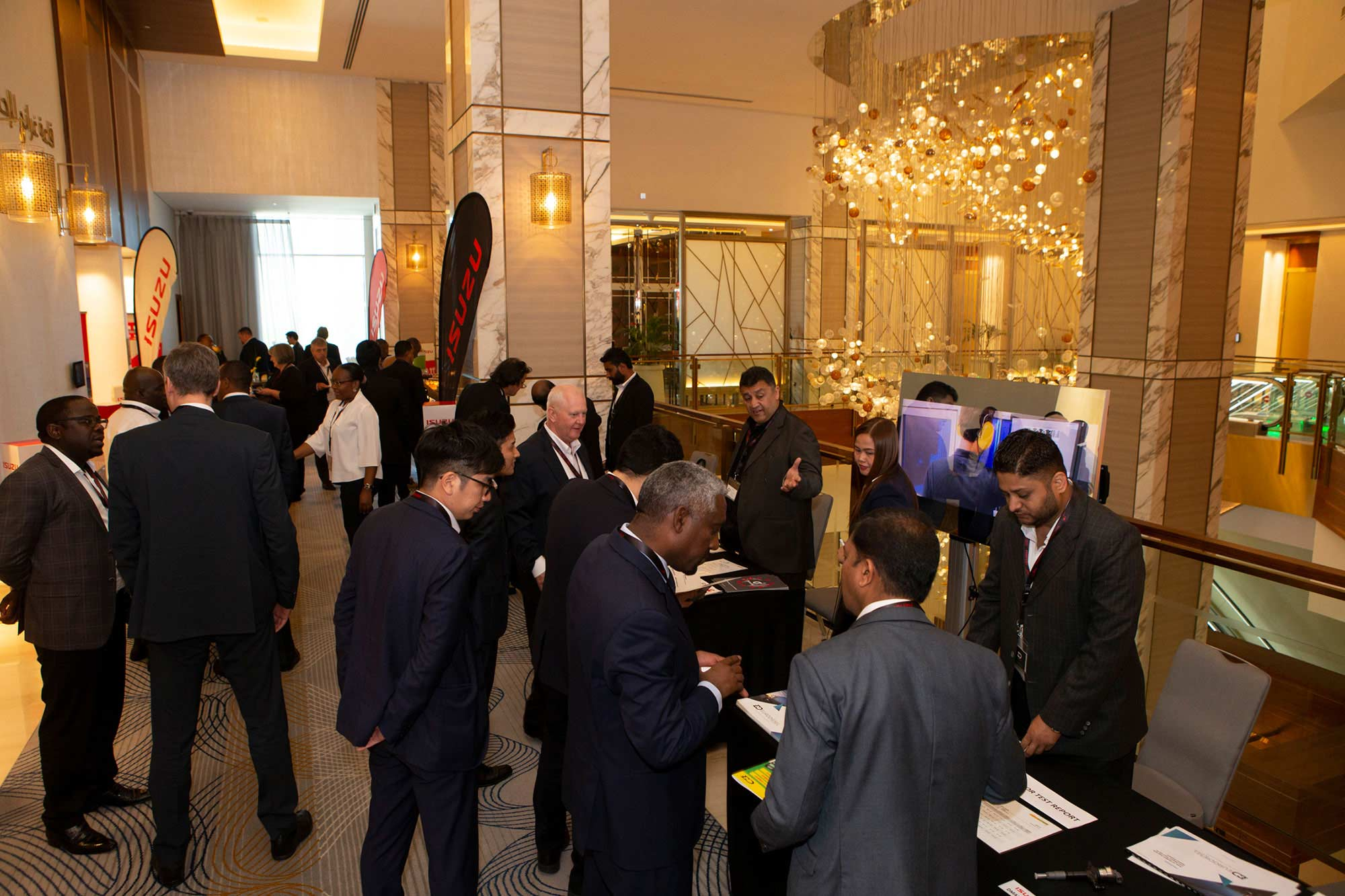 Isuzu Middle East and Africa Regional Conference 2020 Participants