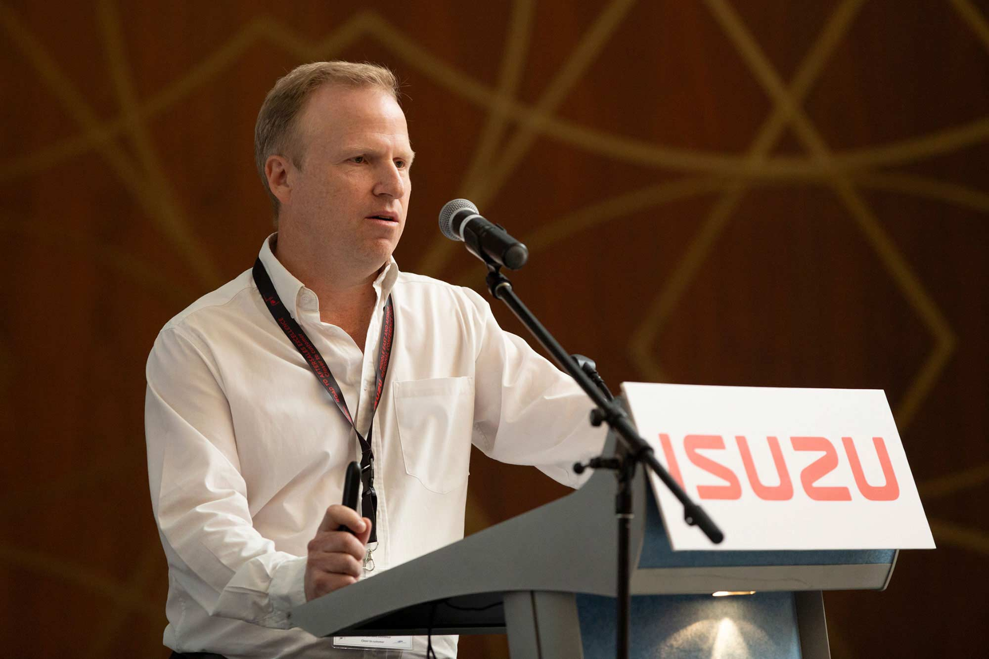 Isuzu Middle East and Africa Regional Conference 2020 Speech