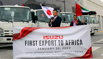 ISUZU ESTABLISHES IDC IN DUBAI TO REACH OUT IMMEDIATE DELIVERY