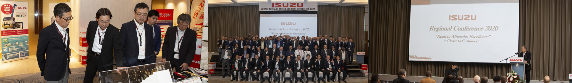 Isuzu Middle East and Africa Regional Conference 2020 Banner