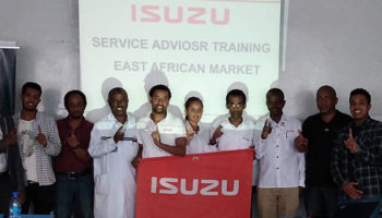 ISUZU SUCCESSFULLY CONDUCTED SERVICE ADVISER TRAINING FOR EAST AFRICA