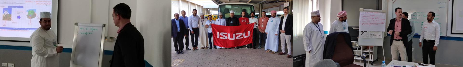 Isuzu Service Adviser Training Banner