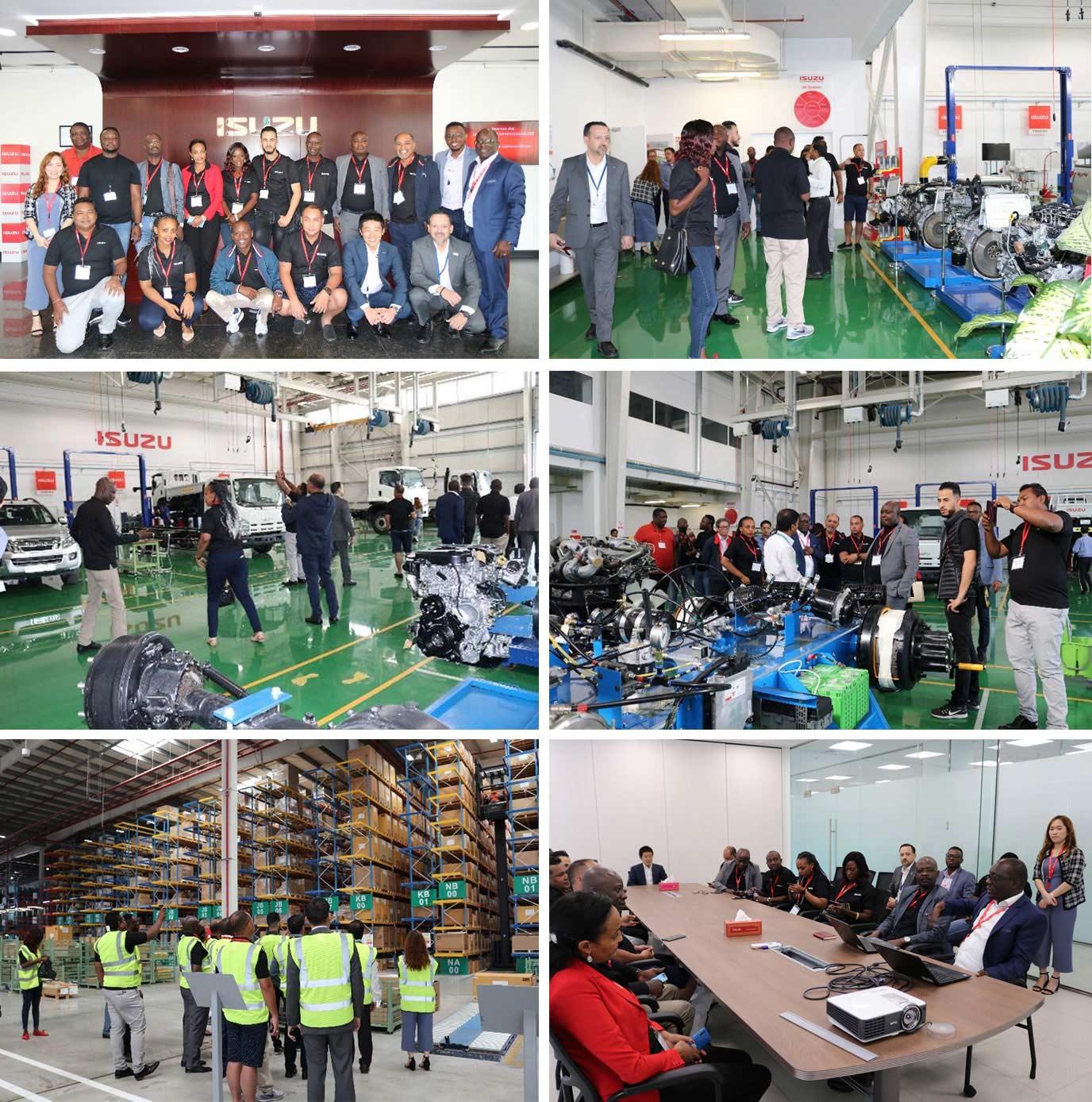 Isuzu Sales Challenge Winners IIF Facility Tour