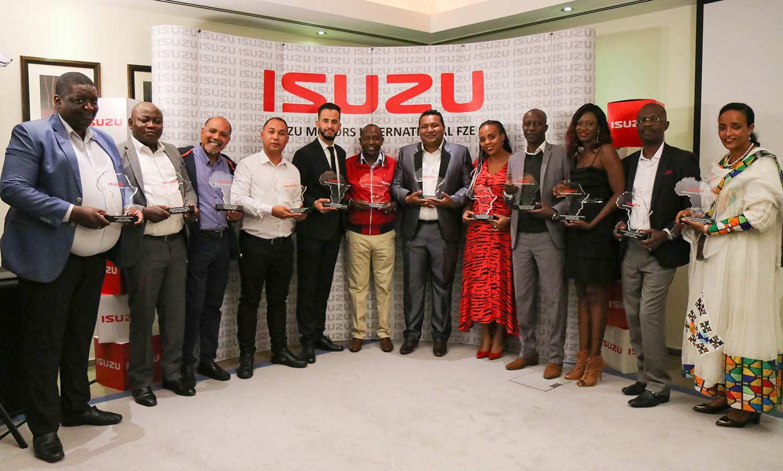 Isuzu Sales Challenge Africa 12 Champions