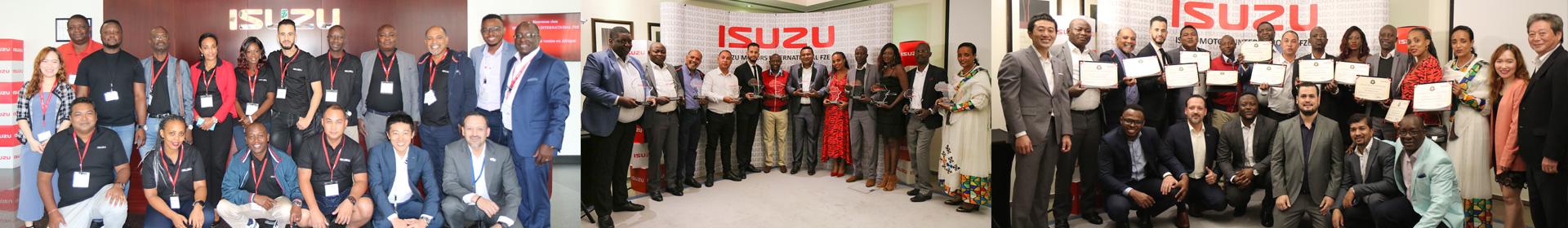 Isuzu Sales Challenge Africa banner