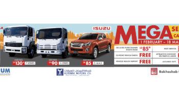 ISUZU | Mega Service Campaign KSA