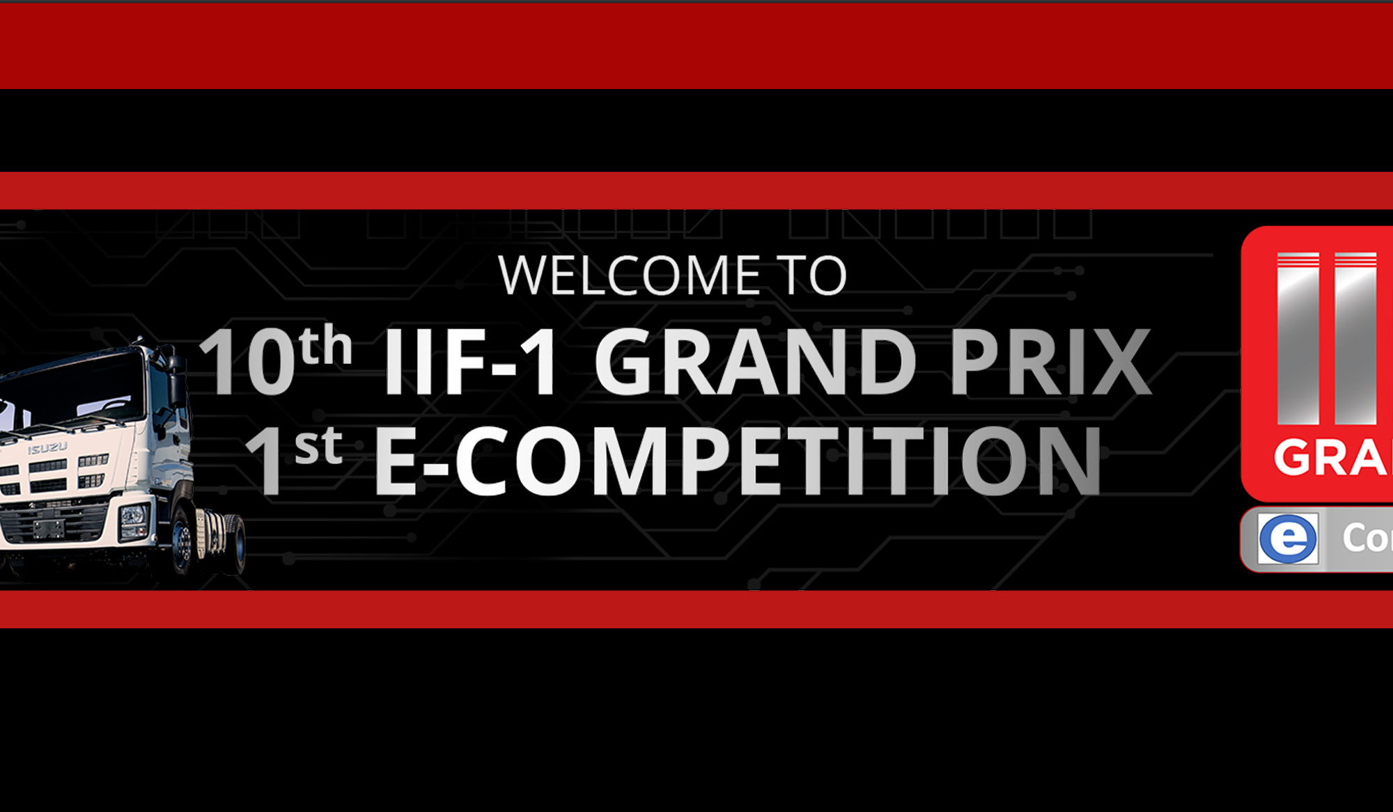 IIF 1 GP E-Competition 2021 Banner