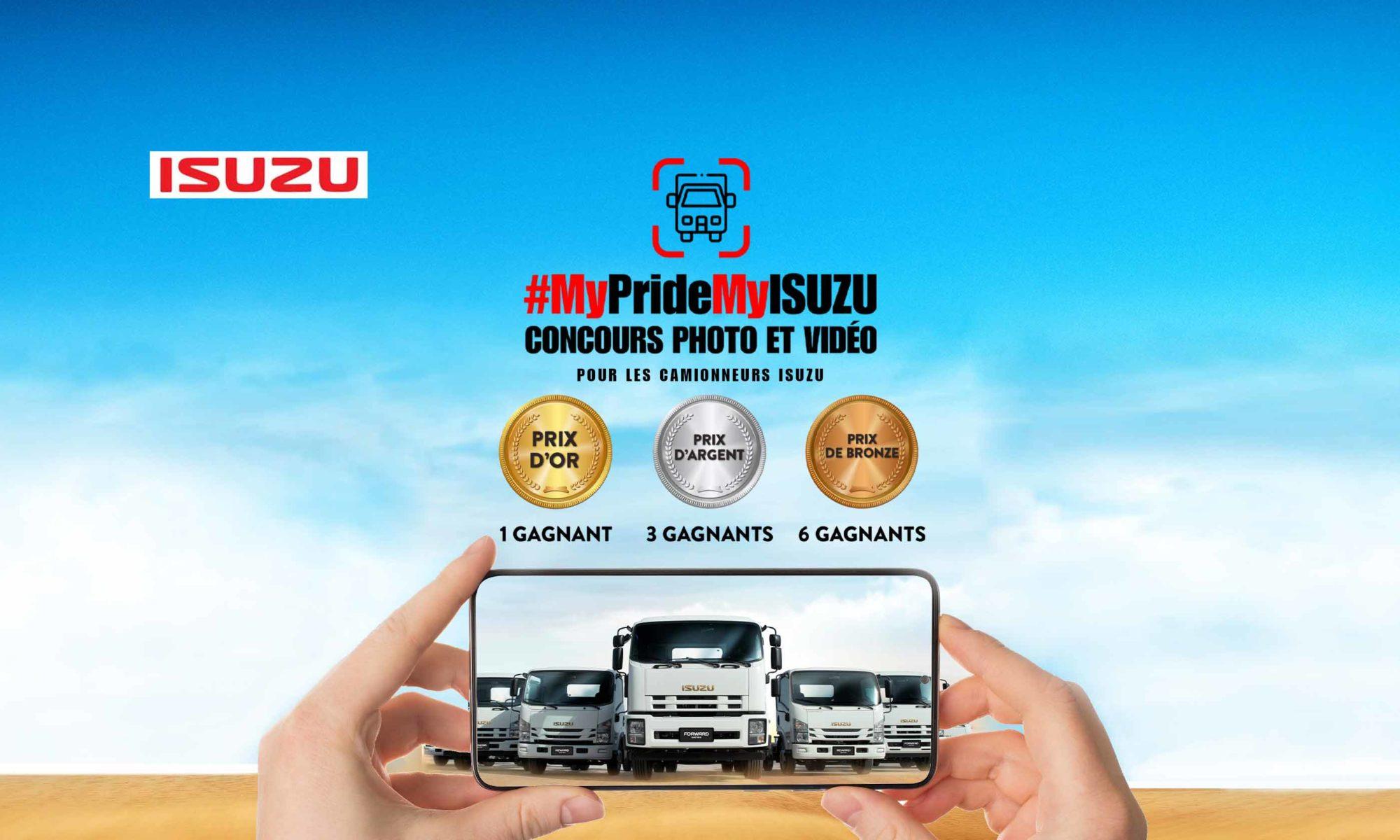 Isuzu Contest FB Cover French