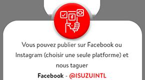 ISUZU Facebook link