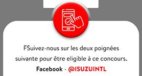 Facebook page ISUZUINTL