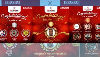 Congratulations to all Winners of #MYPRIDEMYISUZU, a Social Media Contest by ISUZU